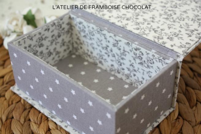 BOITE CARTONNAGE SOUVENIR_1 L'ATELIER DE FRAMBOISE CHOCOLAT