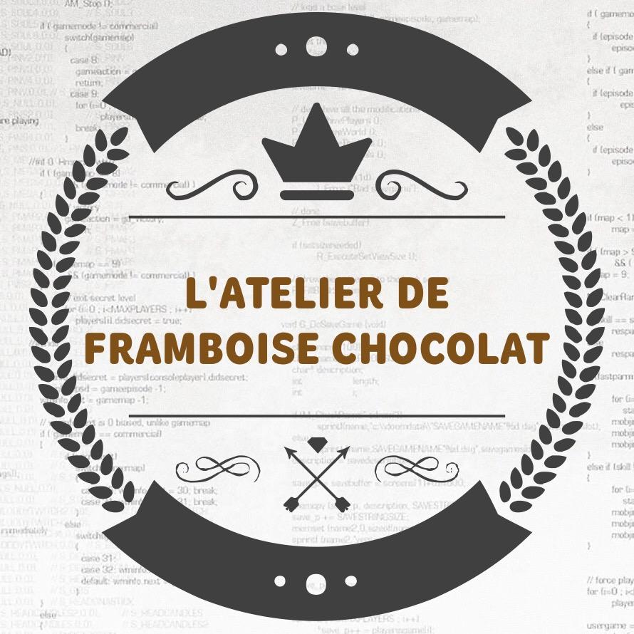 LOGO L'ATELIER DE FRAMBOISE CHOCOLAT_0