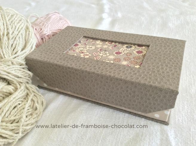 Boîtes pour crochets_0 L'ATELIER DE FRAMBOISE CHOCOLAT