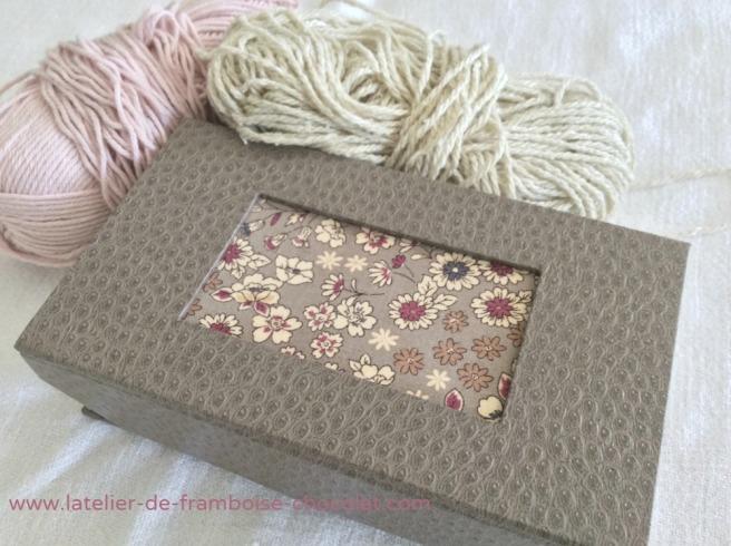Boîtes pour crochets_1 L'ATELIER DE FRAMBOISE CHOCOLAT