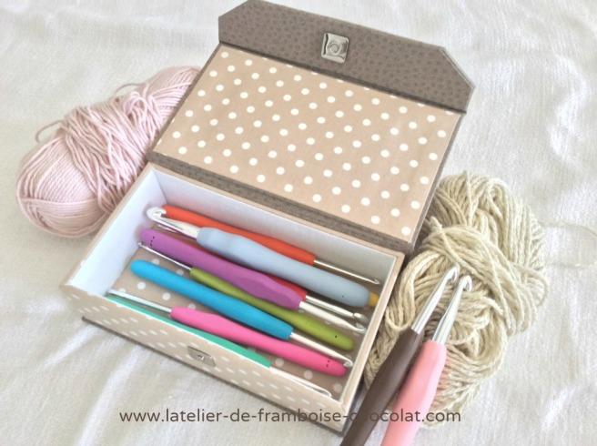 Boîtes pour crochets_2 L'ATELIER DE FRAMBOISE CHOCOLAT